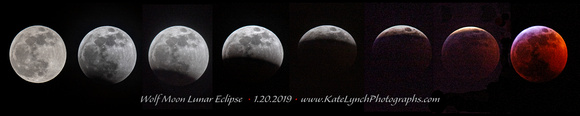 Lunar Eclipse 2019 Progression