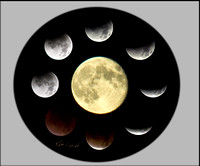 Lunar Eclipse Circle